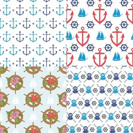 원활한 해양 패턴