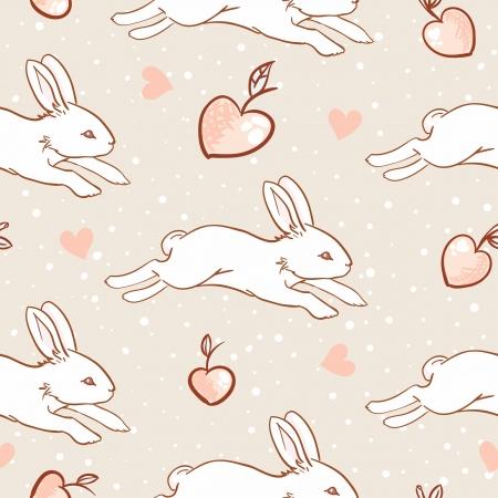 토끼 원활한 패턴