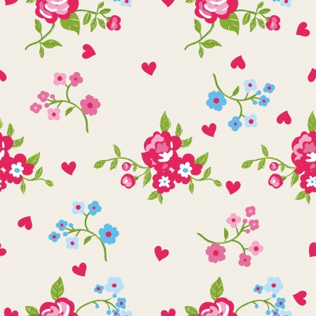 Seamless peony wallpaper pattern
