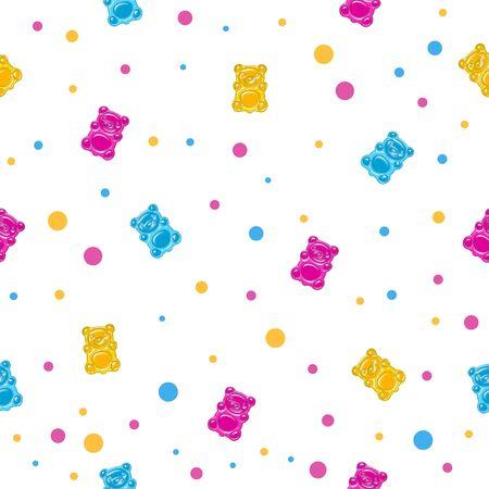 젤리 곰과 원활한 패턴
