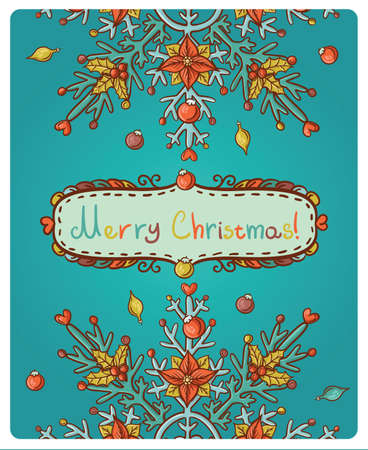 omela: Invitation card for Merry Christmas