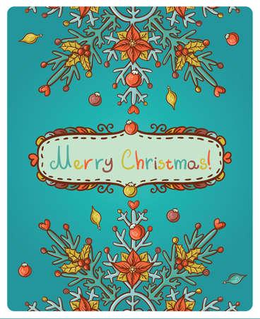 x mas: Invitation card for Merry Christmas