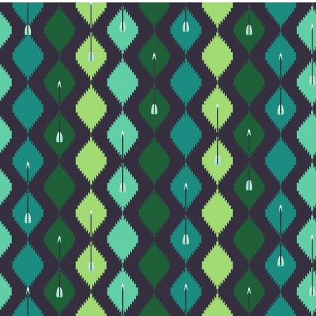 화살표와 원활한 아즈텍 화려한 패턴