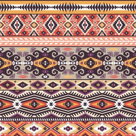 아메리카 원주민 스타일의 원활한 패턴