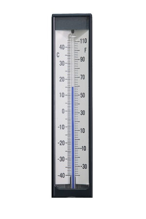 Check temperature machine in industrial photo
