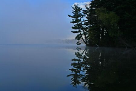 untroubled: Cool Blue Lake