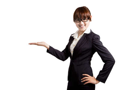 young smiling businesswoman. Stock Photo - 7704732