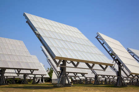 solarcell: solar panel and ECO Power plant