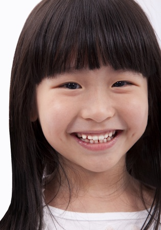 Smiling and happy little girl Stock Photo - 8543514
