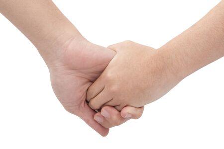 사랑에 손을 잡고 근접 부부 스톡 콘텐츠