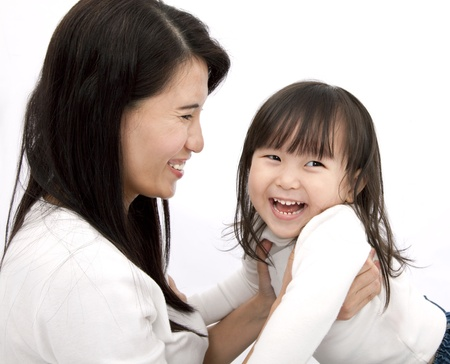 Happy mother and daughter Stock Photo - 9228481