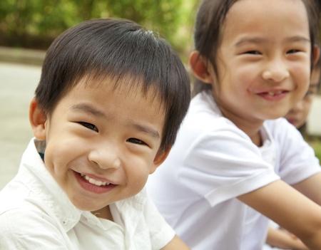 bambini cinesi: Happy kids asiatici