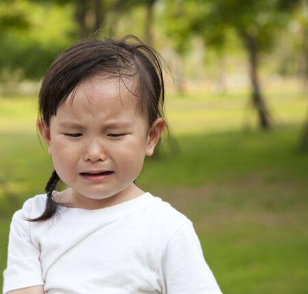 little girl crying Stock Photo - 9700767