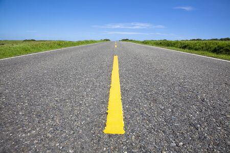 close up surface of empty road Stock Photo - 9842933