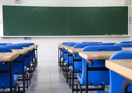 salle de classe: Salle de classe vide de l'�cole