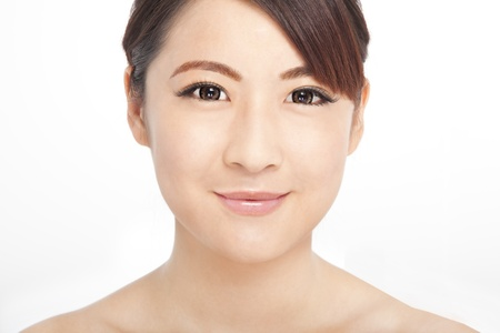 Beautiful woman face photo