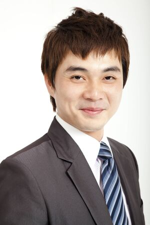 smiling asian businessman Stock Photo - 13208433