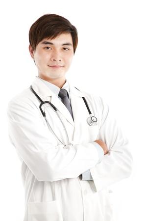 Smiling asian medical doctor Stock Photo - 14099224