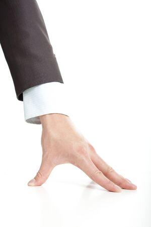 close up of businessman  photo