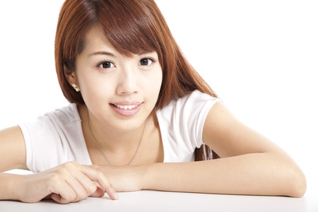 asian beauty young woman  photo