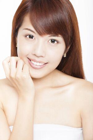 beautiful smiling asian young woman Stock Photo - 15041856
