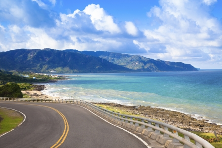 kenting: coastline of kenting national park in taiwan Stock Photo