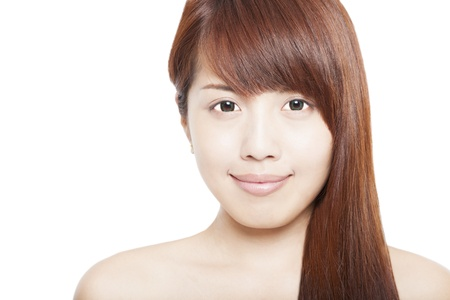 close up of asian beauty woman Stock Photo - 15263920
