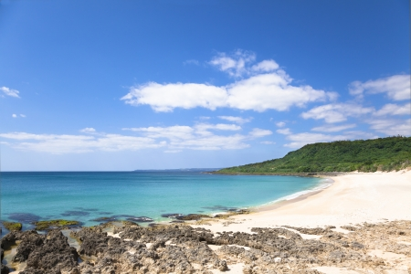 kenting: shadao beach in the kenting national park . taiwan Stock Photo