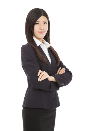 Portrait of a young asian business woman Stock Photo - 18317574