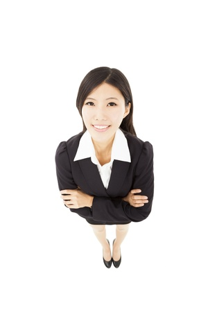young happy asian business woman Stock Photo - 19223480