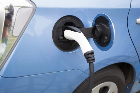Charging of an electric car Stock Photo - 20231062