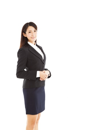 young asian business woman Stock Photo - 20383587