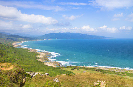 Taiwan famous Sightseeing attractions. Kenting National Park Stock Photo
