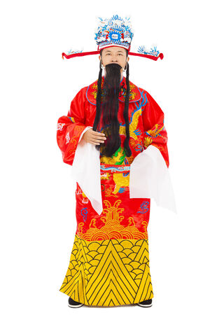 Chinese New Year!  god of wealth share  riches and prosperity photo