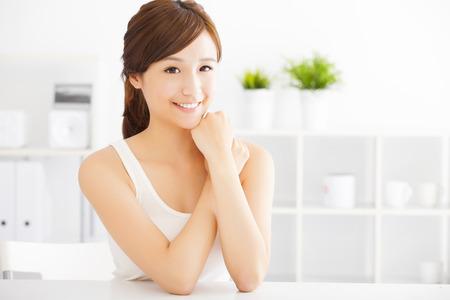 lifestyle: hermosa mujer asiática joven Foto de archivo