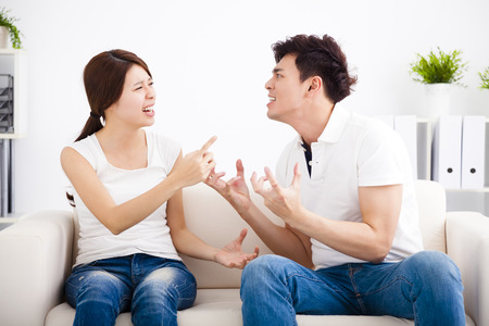 chinese family: Quarrel between girlfriend and  boyfriend