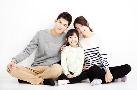 Bonne attrayant Portrait Jeune famille
