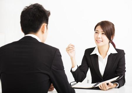Personalkonzept und Vorstellungsgespräch Standard-Bild