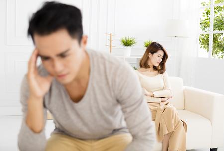 Ruzie tussen man en vrouw