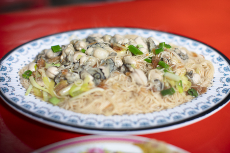 Oyster Vermicelli . taiwanese food