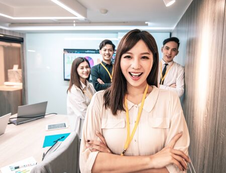 success  Business team  in conference  room