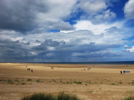 next horizon: Norfolk Coastline Holkham Beach