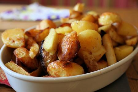 roast potatoes: Roast Potatoes and Parsnips