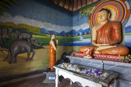 sigiriya: The image house at the Pidurangala Buddhist Temple in Sigiriya, Sri Lanka.