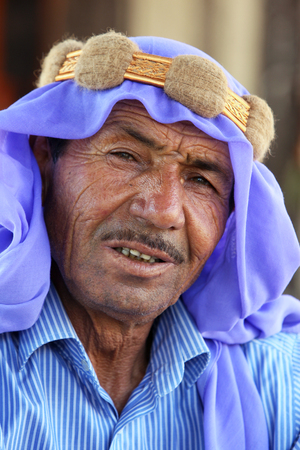 continuously: A man of Arabian descent in the village of Harran in eastern Turkey. The ancient town of Harran is one of the worlds oldest continuously inhabited towns. Editorial