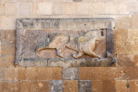 3rd century: The relief of a lion on the city wall at Ani in the far east of Turkey. Ani is located 45 km east of Kars and was constructed in the 10th century by the Bagratid King Ashot 3rd and it became the capital of the Armenian empire.