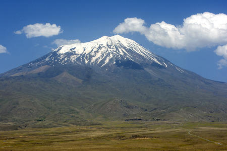 supposed: Mt Ararat 5137 metres high  is located near the city of Dogabayazit in the far east border region of Turkey. It is probably most famous for being the supposed resting place of Noahs Ark.