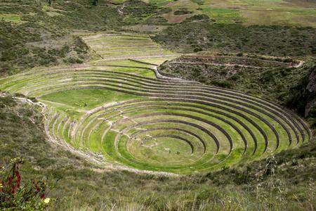 A részben a hihetetlen ősi körök Moray Peru. Található 50 km-re északnyugatra Cusco a Sacred Valley az inkák, úgy gondoljuk, hogy ez egy kutató állomást, ahol a különböző kultúrák teszteltük, hogy alkalmasak növekszik az Andokban ha