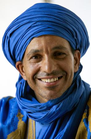 ali: A portrait of Ali the Berber in Rissani in Morocco.