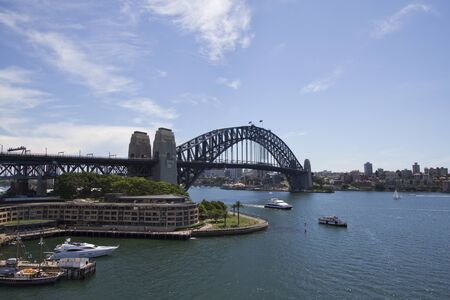 View at Harbour Bridge in Sidney, Australia
